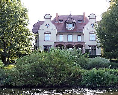 Die Trumanvilla - Residenz von Harry S. Truman während der Potsdamer Konferenz